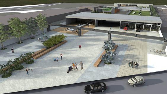 TFG 2014 - Centro de Atendimento a Crianças com TGD - Praça de integração