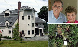 New Hampshire compound with 100 acres of land and bombs for sale #DailyMail, Tax man wants the money, your government hard at work