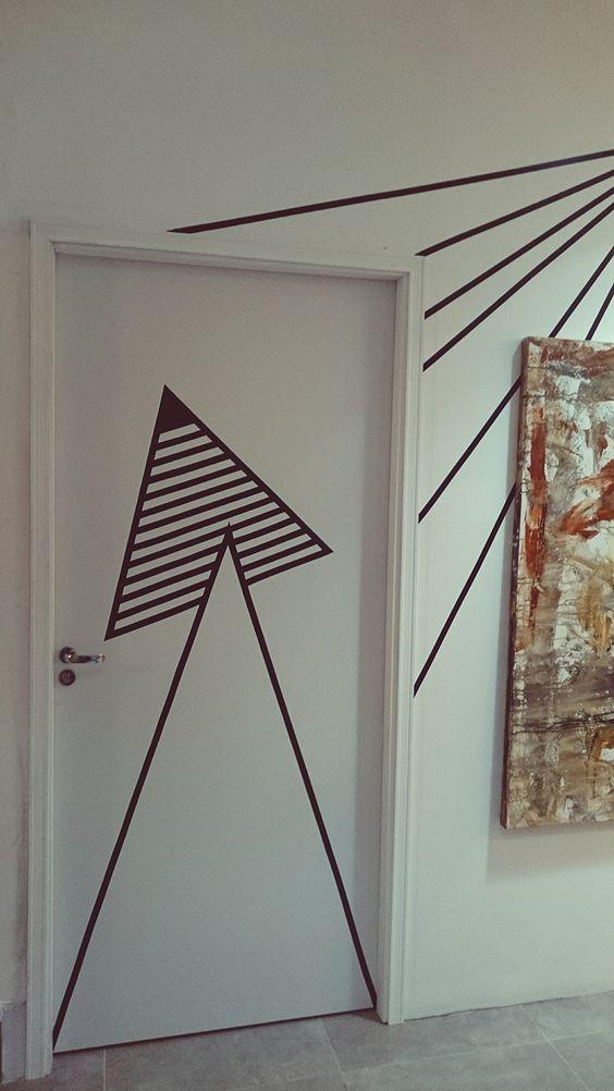 TAPE ARTE - Decor descolada com fita isolante - Homens da Casa: