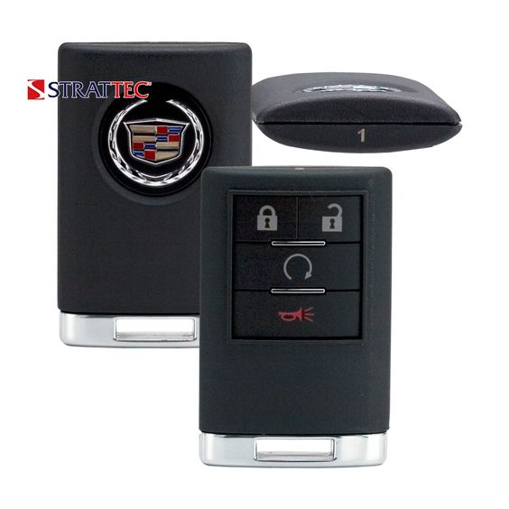 2007 - 2014 Strattec Cadillac Escalade Remote Control 4B Fcc# OUC60000223 / 5923885