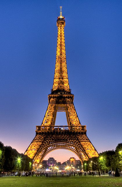 Eiffel tower - was there last week!!! Great vacation with the family