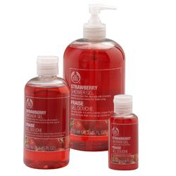 Your entire bedroom suite will smell like strawberries! Strawberry Shower Gel - Shower