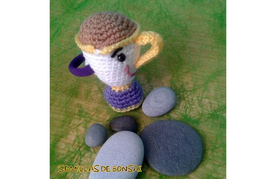 Goma Chip (La bella y la Bestia) (Crochet)