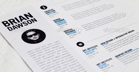 The 41 Best Resume Templates Ever - graphicriver $5, InDesign INDD - best resume template ever