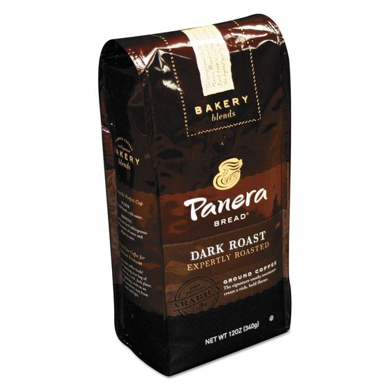 Panera Bread Dark Roast 12 oz Bag Ground