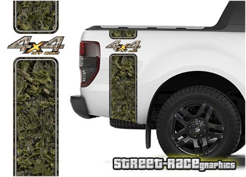 Ford F 150 Printed Camouflage Bed Bands Will Also Fit Other