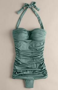 lovely teal bathing suit