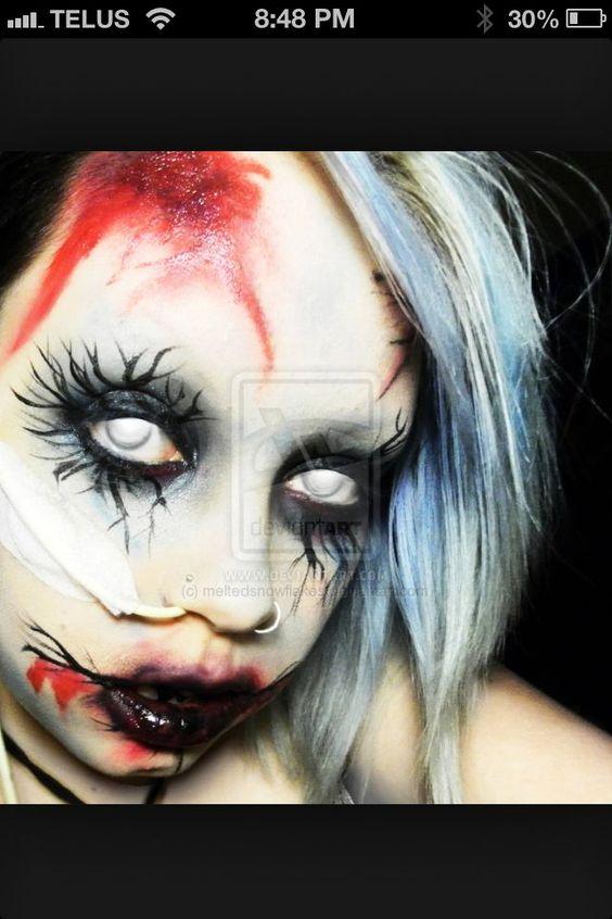 zombie dress ideas   Via Shannon Alexus