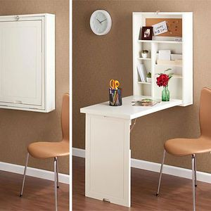 small homes best desk and fold down table on pinterest