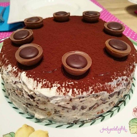 Nussige Toffee-Schoko-Torte