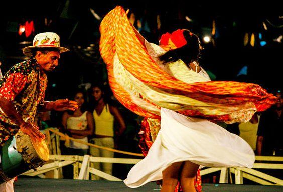 Festa popular em São Luís