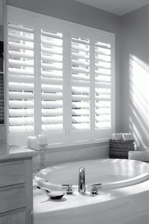 Luxury Bathroom Window Treatments For Home Design Ideas With Bathroom Window Treatments Bathroom B Bathroom Window Coverings Bathroom Blinds Elegant Bathroom