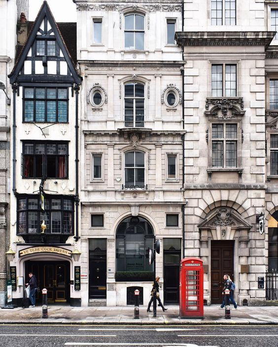Fleet Street - London, England: