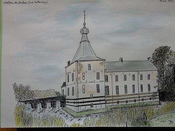 Château de Genhoes. Françoise Delarue Journet Francoise Delarue Journet