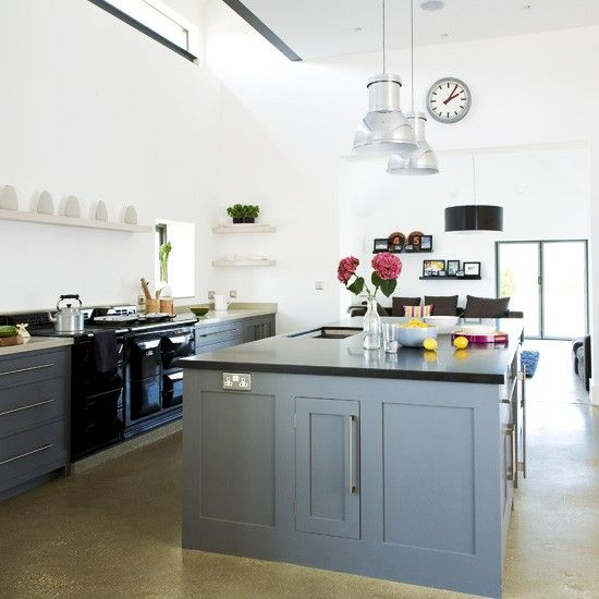 Kitchen Iland Chesterwood Colour Combination: Range Cooker, Grey And Islands On Pinterest