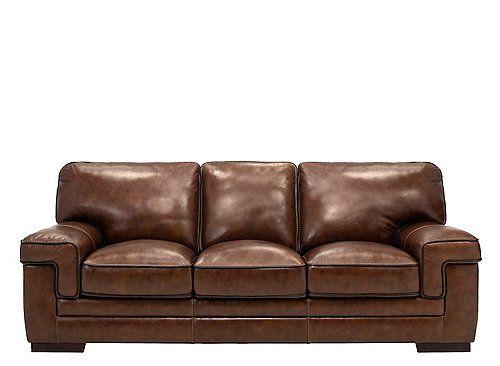 Colton Sofa Top Grain Leather Sofa Sofa Leather Living Room Set