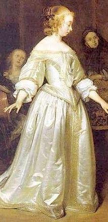 17th century, White dress and Women's on Pinterest