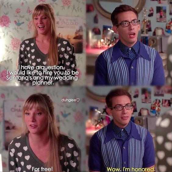 """#Glee 6x06 """"What the World Needs Now"""" - Brittany and Artie"""
