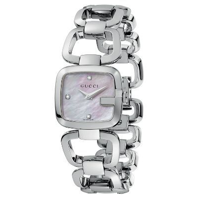 Gucci Stainless Steel Ladies Watch available at #HelzbergDiamonds