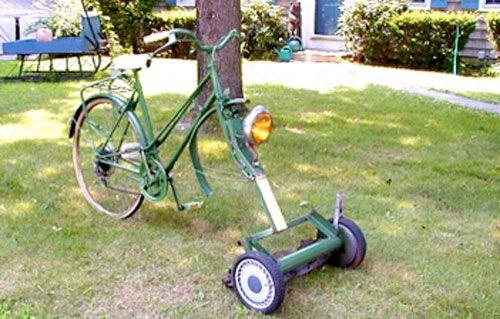 redneck ride mower