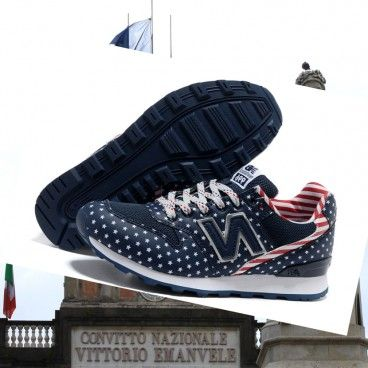 In linea Le donne New Balance 996 Navy Flag Bestseller Italia Boutique