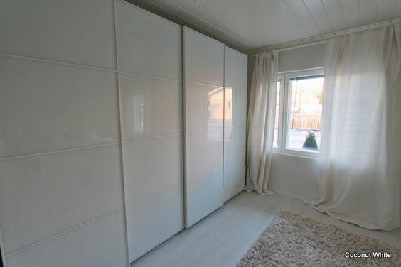 Coconut White: Uusi valkoinen makuuhuone