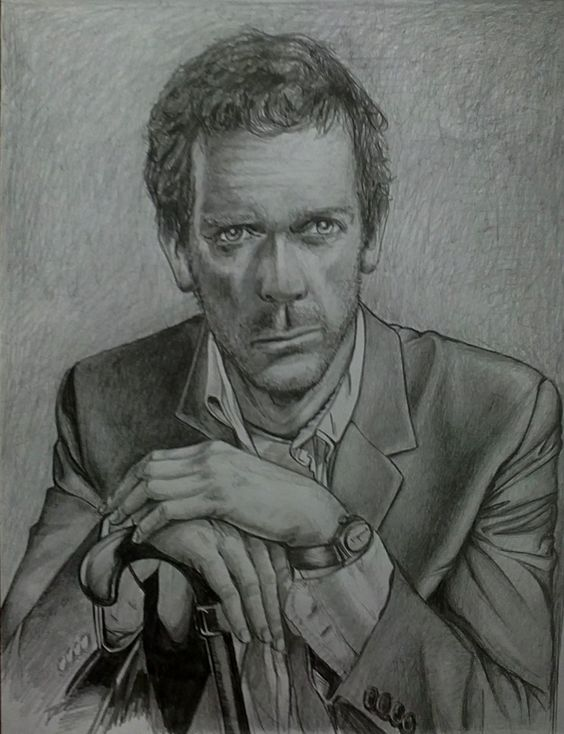 dr house portrait by ultraseven81 on DeviantArt