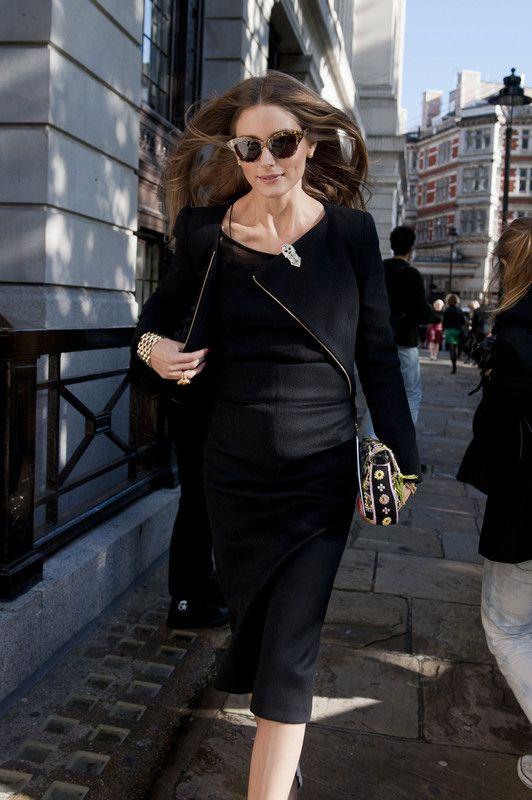 THE OLIVIA PALERMO LOOKBOOK: London Fashion Week: Olivia Palermo at Pringle of Scotland