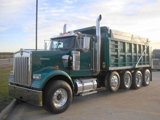 Kenworth Dump Trucks http://www.nexttruckonline.com/trucks ... Kenworth Dump Trucks Pics