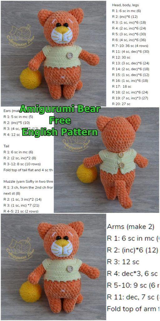 FREE Little Kitty Cat Amigurumi Crochet Pattern and Tutorial We ... | 1024x512