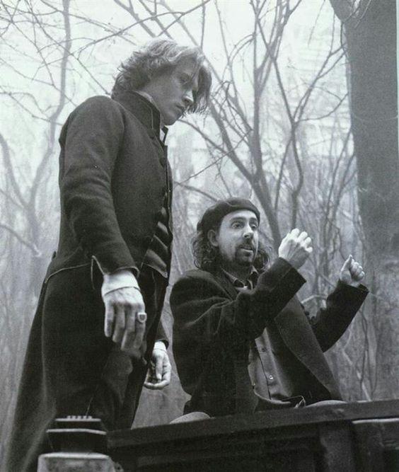 Tim Burton & Johnny Depp. Sleepy Hollow