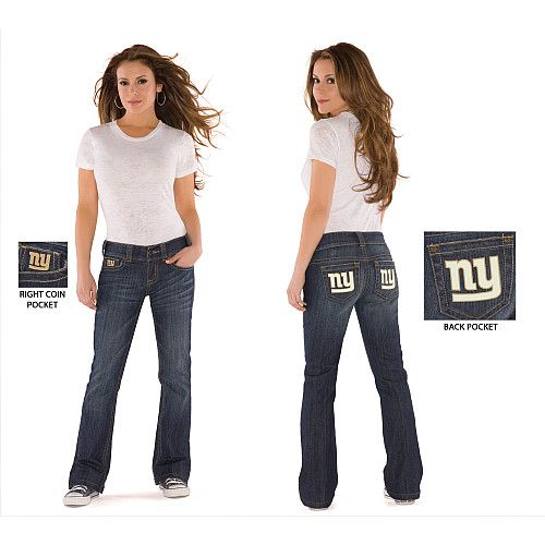 Touch by Alyssa Milano New York Giants Women's Signature Jeans ...