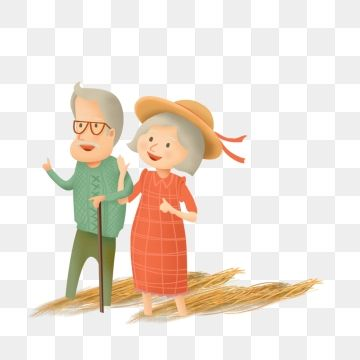 Painted Grandfather Grandmother Illustration Character Grandfather Clipart Painted Cartoon Png Transparent Clipart Image And Psd File For Free Download Character Illustration Cartoons Png Character Design