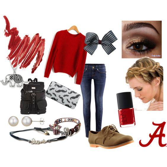 """Visting the University of Alabama"""