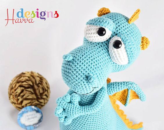 Amigurumi Dragon Wings Pattern : Amigurumi, Dragon and Design patterns on Pinterest