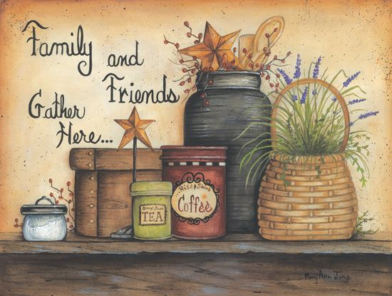 Family and Friends by Mary Ann June