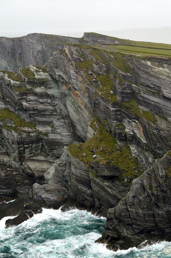 Cliffs Of Kerry Ireland By Nattie On The Road With Images Ireland Landscape Ireland Landscape Nature Ireland Travel