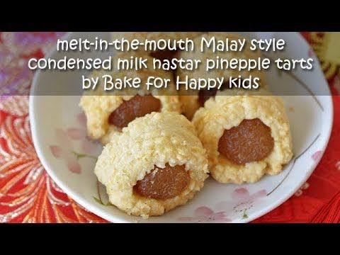 Ultimate Melt In Your Mouth Malay Style Condensed Milk Enclosed Nastar Pineapple Tarts Cake Like In 2020 Pineapple Tart Tart Baking
