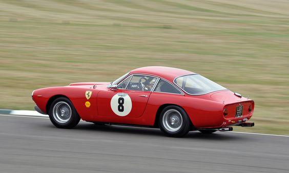 Paul Osborn & Tony Jardine - 1963 Ferrari 250 GT Lusso No.8 (Rear) - 2009 Goodwood Revival | by Motorsport in Pictures