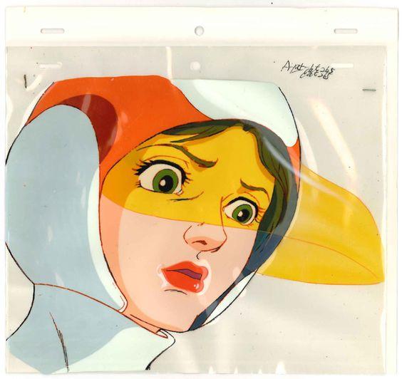 セル画の白鳥のジュンの画像。