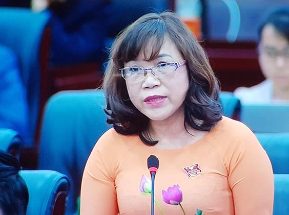 Bà Nguyễn Thị Thúy Mai, Phó Giám đốc Sở Công Thương Đà Nẵng.