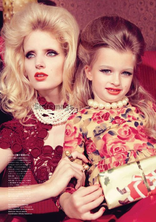From January 2012 issue of VOGUE JAPAN.Direscted by Yuki Matsuyama.