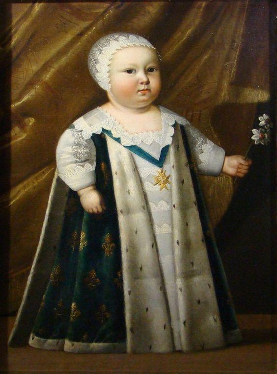 Louis XIV, roi de France, enfant