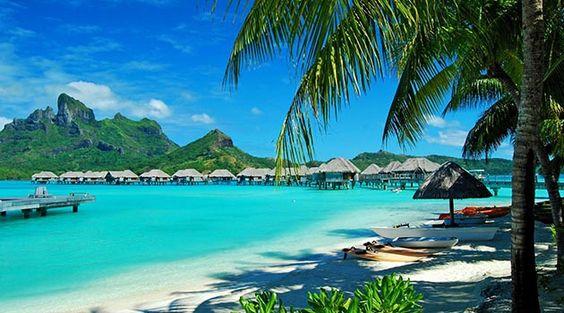 Lua de Mel: Bora Bora coisasdekarol.com.br