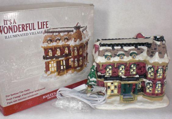 It 39 S A Wonderful Life Illuminated Bailey 39 S House 320 Sycamore By Enesco It 39 S A Wonderful Life