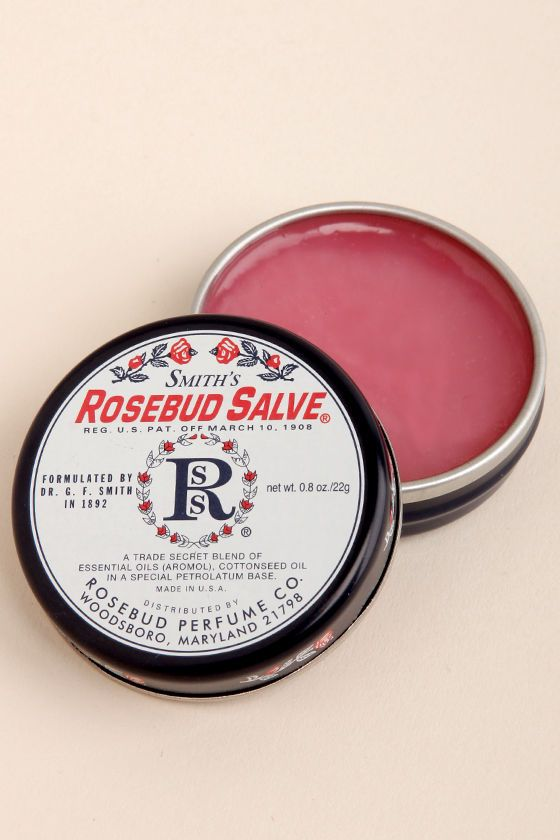 Smith's Rosebud Salve - Rose Salve - $7.00