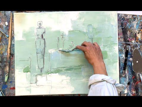 Abstrakte Malerei Acryl Fur Anfanger Spachtel Zeichnung Figuren Youtube Acrylmalerei Abstrakt Abstrakte Malerei Malerei