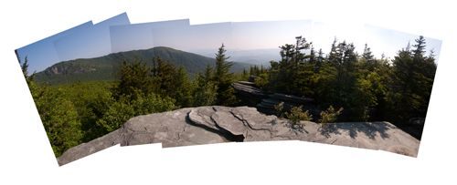 Daniel boone scout trail a gorgeous mountain top view for A p furniture trail