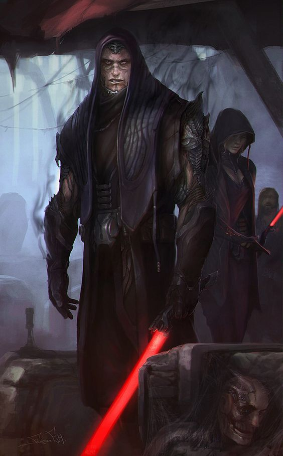SW Darth Bane and Zannah by svor on @DeviantArt