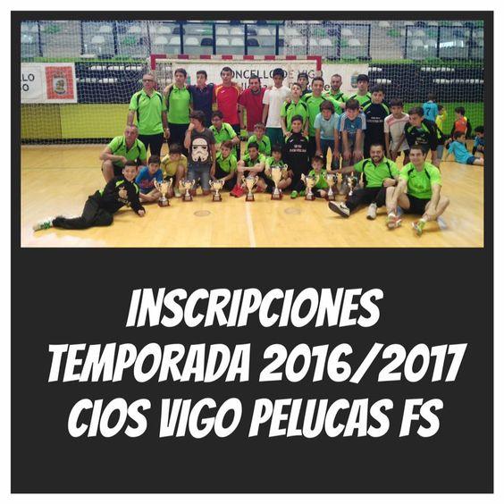 Pelucas Futbol Sala: Cios Vigo Pelucas,se buscan niños y niñas de 4 a 18 años para jugar liga Local,Provincial y Gallega